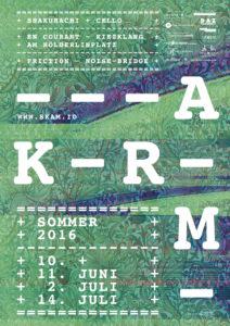 KRAM Sommer 2016 Plakat